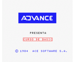 Curso de BASIC con MSX (1985, MSX, Advance)