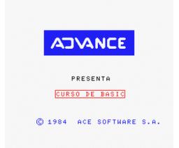 Curso de BASIC con MSX (1985, MSX, Advance)