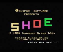 Hot Shoe (1984, MSX, Longman)