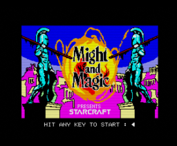 Might and Magic Book One - Secret of the Inner Sanctum (1988, MSX2, New World)