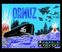 Ormuz (1988, MSX, Genesis Soft)