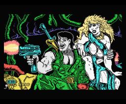 Jungle Warrior (1990, MSX, Zigurat)