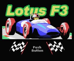 Lotus F3 (2007, MSX, dvik & joyrex productions)