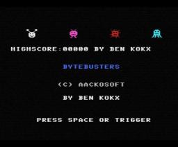 Bytebusters (1985, MSX, Aackosoft)