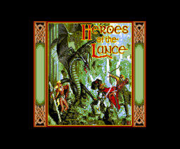 Heroes of the Lance (1991, MSX2, SSI)