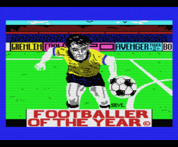 Footballer of the Year (1986, MSX, Gremlin Graphics)