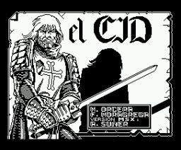 El Cid (1987, MSX, Dro Soft)