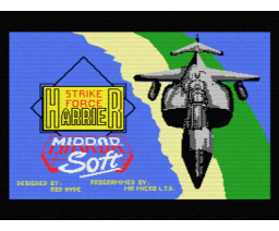 Strike Force Harrier (MSX, Mirrorsoft)