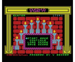 Enigma (1987, MSX, ODIN Software)