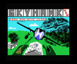 Skyhawk (1986, MSX, Bug-Byte Software)