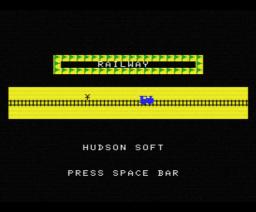Railway (1983, MSX, Hudson Soft)