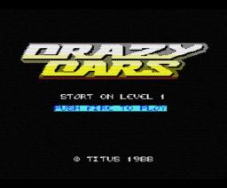 Crazy Cars (1988, MSX, Titus)