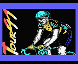 Tour 91 (1991, MSX, Topo Soft)
