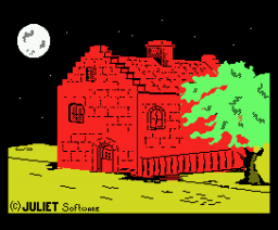 Knight Ghost (1987, MSX, Juliet Software)