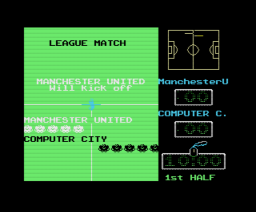 Manchester United (1988, MSX, Krisalis Software Ltd.)
