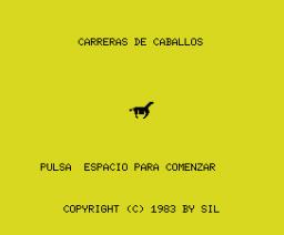 Horse Race (1983, MSX, Spectravideo (SVI))