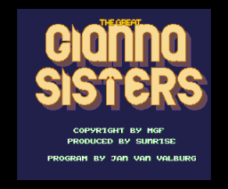 The Great Gianna Sisters (1993, MSX2, MGF)