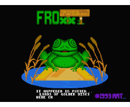 Froxx The Keeper of the eight Discs  (1993, MSX2, RAT)