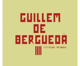 Guillem de Berguedà (1985, MSX, Centre Divulgador de la Informàtica (Catalunya))