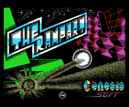 The Rampart (1988, MSX, Genesis Soft)