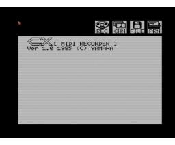 MIDI Recorder (1985, MSX, YAMAHA)