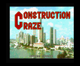 Construction Craze (1994, MSX2, Paragon Productions)