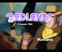 Badlands (1984, MSX, Konami)