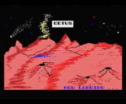 Cetus (1986, MSX, MSX2, Tynesoft)