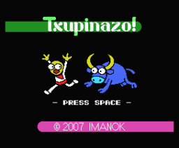 Txupinazo! (2007, MSX, Imanok)
