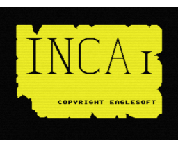 Inca (1987, MSX, The Bytebusters, Double Brain!)
