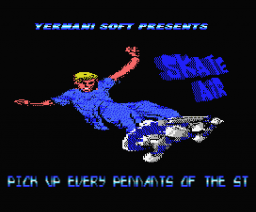 Skate Air (2006, MSX, Yermani Soft)