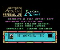 Starbyte (1987, MSX, Mister Chip)