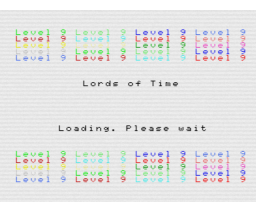 Lords of Time (1983, MSX, Level 9 Computing)