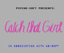 Catch That Girl (1986, MSX, Psycho-Soft)
