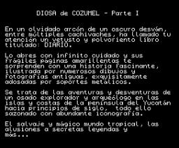 Ci-U-Than Trilogy I (1990, MSX, Aventuras AD)