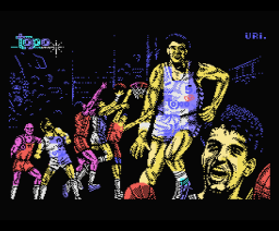 Drazen Petrovic Basket (1989, MSX, Topo Soft)