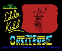 Eddie Kidd Jump Challenge (1985, MSX, Martech Games)