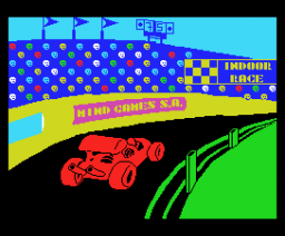 Indoor Race (1987, MSX, Mind Games España)