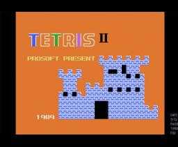 Tetris II (1989, MSX, Prosoft)