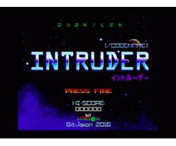 Codename: INTRUDER (2016, MSX, bit Vision)