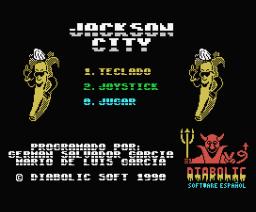 Jackson City (1990, MSX, Diabolic)