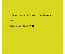 Interprete e modulo base (1985, MSX, Enrico Colombini)
