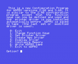 WDPro (1985, MSX, Kuma Computers)