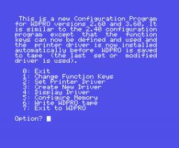 Word Pro (1986, MSX, Kuma Computers)