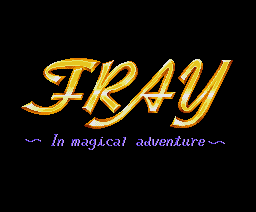 Fray in Magical Adventure (1990, MSX2, Microcabin)