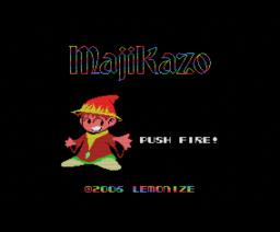 MajiKazo (2006, MSX, Lemonize)