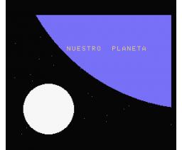 Aprende astronomía con La Tierra en el espacio (MSX, Grupo de Trabajo Software (G.T.S.))