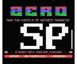 ZERO and the Castle of Infinite Sadness (2014, MSX, Dioniso)
