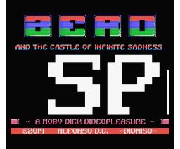 ZERO and the Castle of Infinite Sadness (2014, MSX, Dioniso)