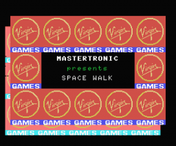 Space Walk (1985, MSX, Mastertronic)